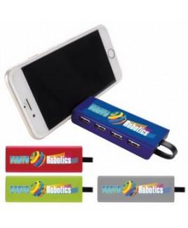 Good Value® 4 Port USB Hub & Phone Stand