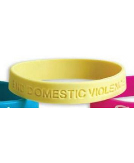 Silicone Band - Standard Sized Debossed w/UV