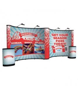 20' Gullwing Show 'N Rise Floor Display Kit (Full Mural)