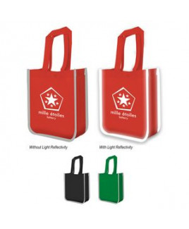 Reflective Non-Woven Lunch Tote Bag