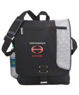"Gridlock Vertical 15"" Computer Messenger Bag"