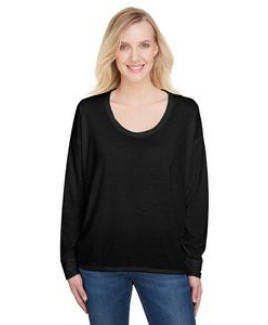 Anvil / Cotton Deluxe Ladies' Freedom Long-Sleeve T-Shirt