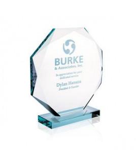 Jaffa® Jade Octagon Award - Small
