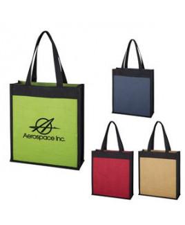 Laminated Jute Tote Bag