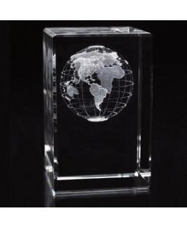 Jaffa® Custom Tall World Cube Award