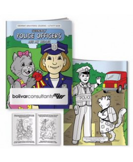 BIC Graphic® Coloring Book: Friendly Police Officers