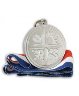 "1 1/2"" Medallion w/2D Die Cast (3.0MM)"