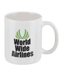 11 Oz. Classic White Ironstone Mug