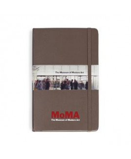 Moleskine® Hard Cover Ruled Large Notebook - Earth Brown