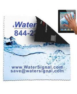"""8""""x 8"""" """"Havasu XL"""" Double Sided Full-Color Sublimated Microfiber Cleaning Cloth"""