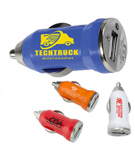 """""""Vienna"""" USB Car Charger & Adapter (Overseas)"""