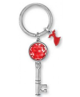 Bling Ring w/Message Tag Key Chain