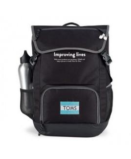 Ollie Computer Backpack Black