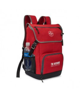 Ollie Computer Backpack - Red