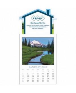 Triumph® Full Color Scenic Stick Up Grid Calendar