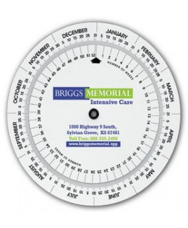 Triumph® Weekly Swivel Calculator Calendar