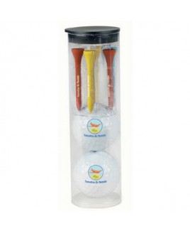 Wilson® Par Pack w/2 Balls-N-Tees w/Ultra 500 Golf Ball