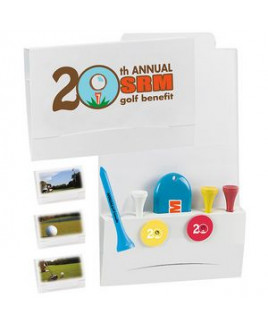 """BIC Graphic® 4-2-1 Golf Tee Packet w/ 2 3/4"""" Tees"""