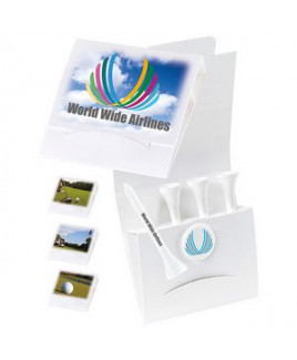 """Bic Graphic® 4-1 Golf Tee Packet w/Ball Marker & 3 1/4"""" Tees"""