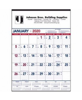 Triumph® Patriotic Contractor Memo Calendar