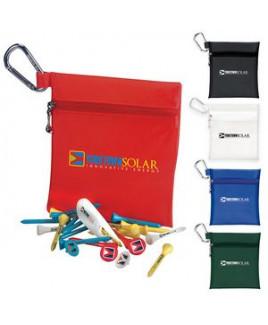 "BIC Graphic® Champion Golf Jumbo Zipper Pack w/2 1/8"" Tees"