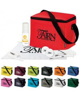 KOOZIE® 6 Pack Kooler Golf Event Kit w/Wilson® Ultra 500 Golf Balls