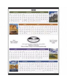 Triumph® Scenic Span-A-Year Calendar