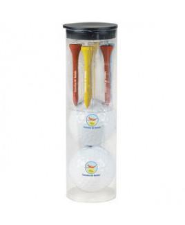 Callaway® Par Pack w/2 Balls-N-Tees - Warbird 2.0 Golf Ball