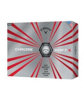 Callaway® Chrome Soft X Golf Balls Std Serv