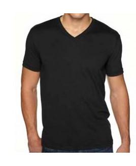 NEXT LEVEL APPAREL Men's Sueded V-Neck T-Shirt