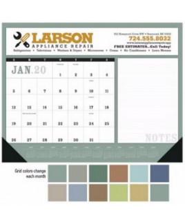 Triumph® Notes Desk Pad Calendar w/Vinyl Corners