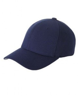 Yupoong Adult Cool & Dry Piqué Mesh Cap