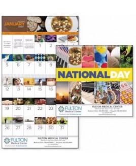 Good Value® National Day Calendar (Spiral)