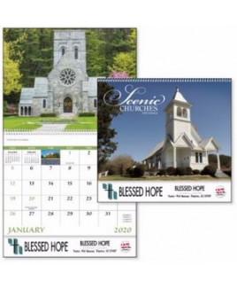 Good Value® Scenic Churches Calendar (Spiral)