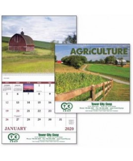 Good Value® Agriculture Calendar (Spiral)