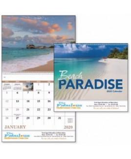 Good Value® Beach Paradise Calendar (Spiral)