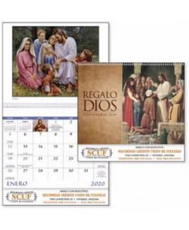 Good Value® Regalo de Dios Calendar (Spiral)