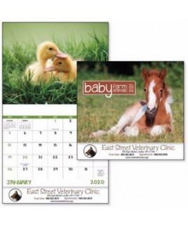 Good Value® Baby Farm Animals Calendar (Stapled)