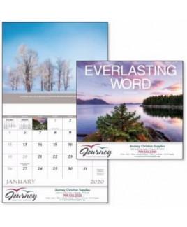 Good Value® Everlasting Word Calendar (Stapled)