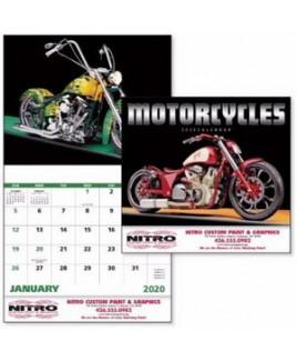 Good Value® Motorcycles Stapled Calendar