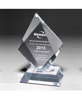 "Medium Summit Award w/4-Color Process (5""x 8 1/2""x 1 1/4"")"