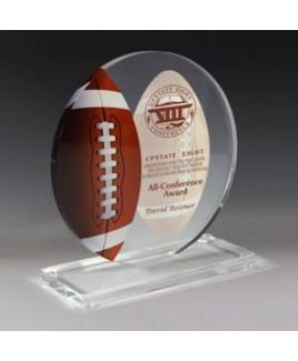 "Football Achievement Award - 4 Color Process - (5¾"" X 6¼"")"