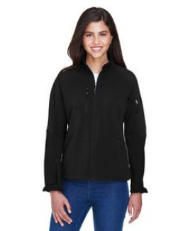 NORTH END Ladies' Compass Colorblock Three-Layer Fleece Bonded Soft Shell Jacket