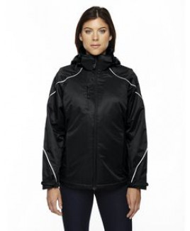 NORTH END Ladies' Angle 3-in-1 Jacket with Bonded Fleece Liner