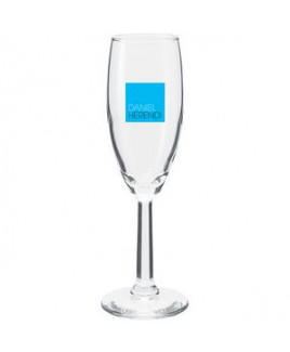 5.75oz Napa Flute Glass (Clear)