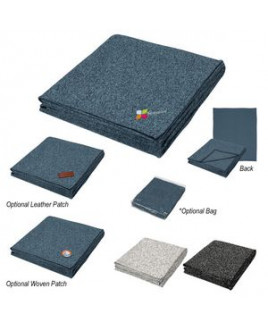 Heathered Fleece Blanket