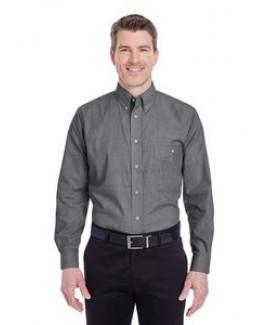 ULTRACLUB Men's Wrinkle-Resistant End-on-End