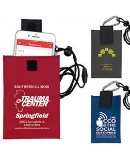 """Angel"" Cell Phone & ID Holder Wallet w/Carabiner & Breakaway Safety Lanyard"