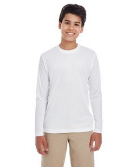 ULTRACLUB Youth Cool & Dry Performance Long-Sleeve Top