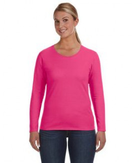 Anvil / Cotton Deluxe Ladies' Lightweight Long-Sleeve T-Shirt